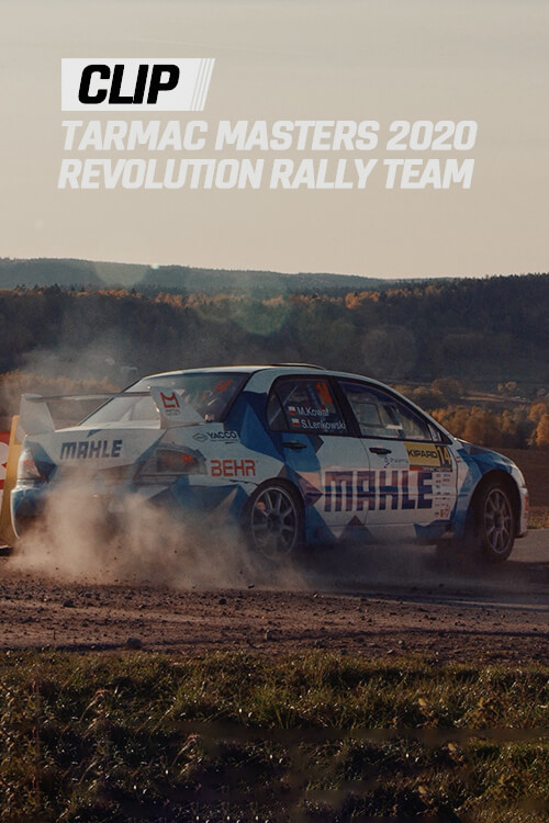 Poster - Revolution Rally Team Tarmac Masters 2020