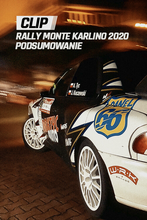 Poster - Rally Monte Karlino 2020