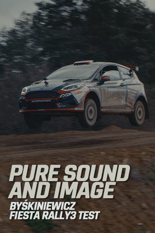 Poster - Fiesta Rally3 - Pure sound and image - Byśkiniewicz